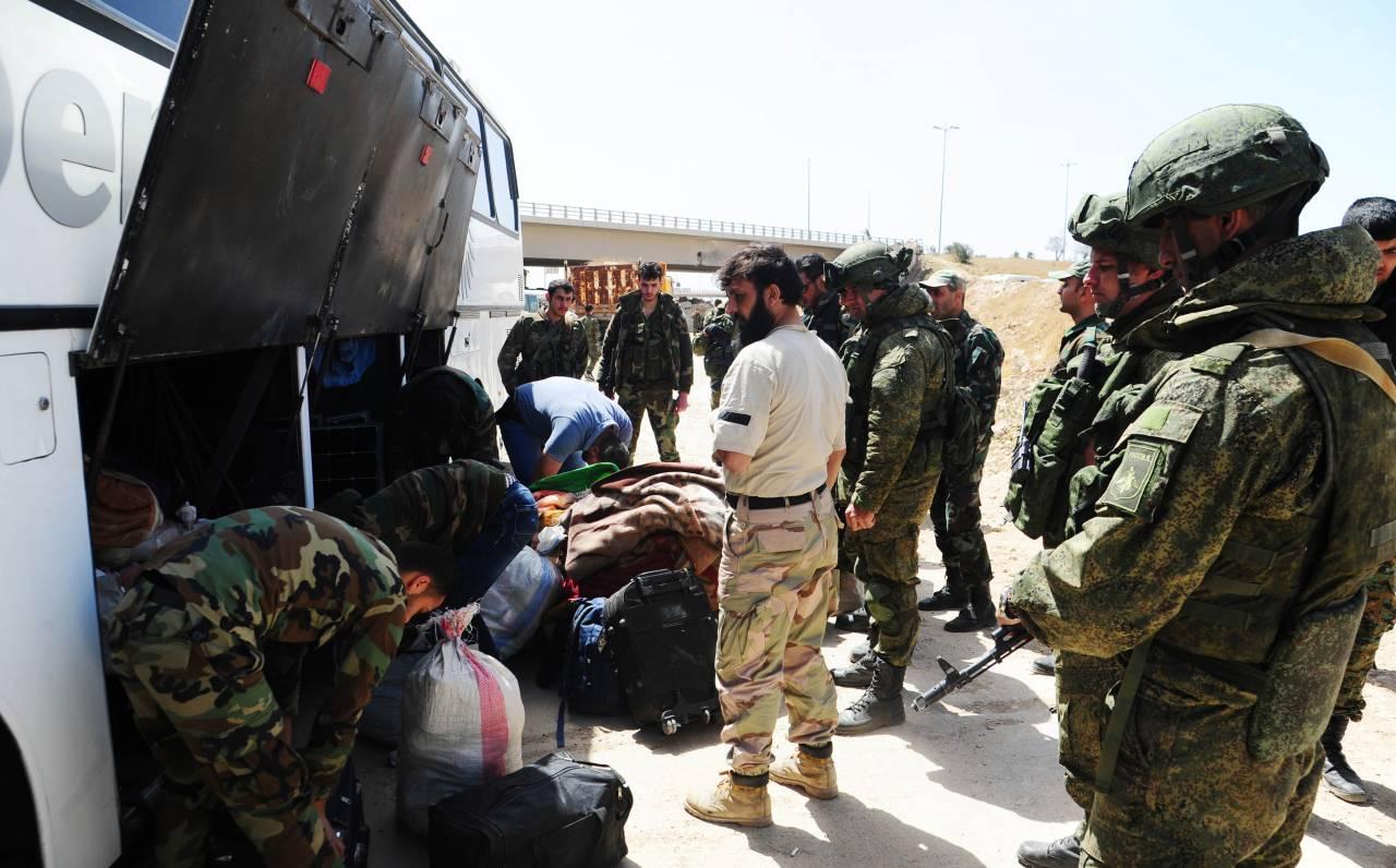 ВВосточной Гуте изплена освобождены восемь заложников