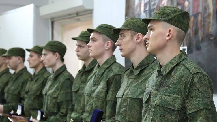 Этой весной на службу в ВС РФ отправятся служить 128 тысяч новобранцев