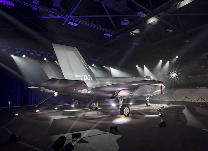 韓国向けに製造されたF-35Аがアメリカで発表されました