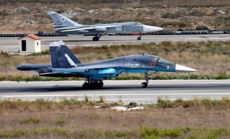 Medios: Rusia ha transferido dos Su-34 a Hmeimim