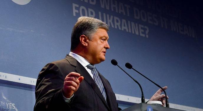 """Poroshenko ha attribuito la Germania ai """"complici della Russia"""""""
