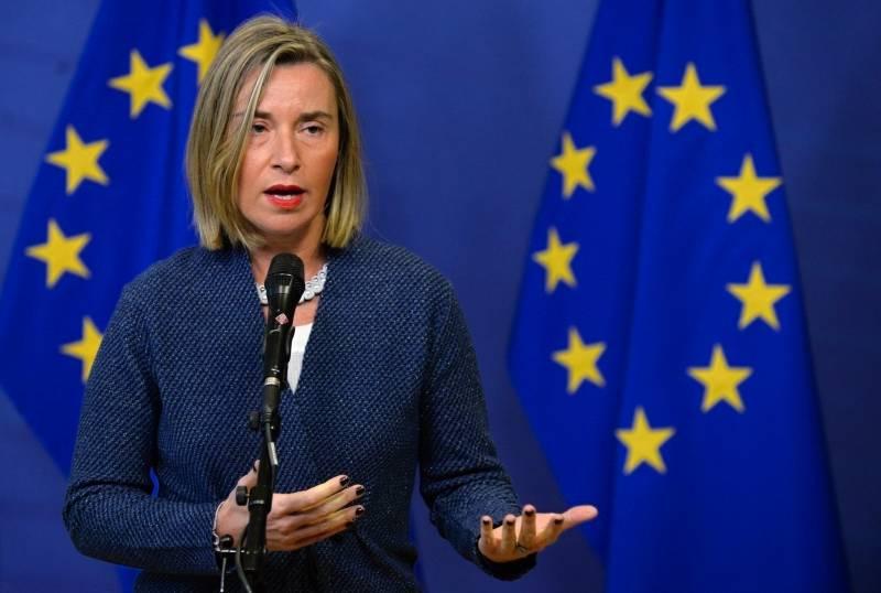 Могерини назвала условия, при соблюдении которых ЕС поддержит ввод миротворцев в Донбасс