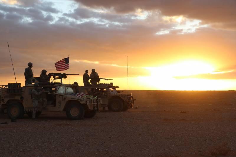 Армия США препятствует возвращению под контроль САА сирийских территорий