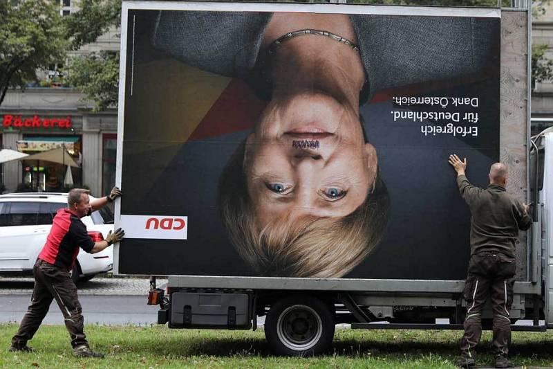 Почему Меркель не будет считаться с настроением немцев, недовольных её политикой в отношении России