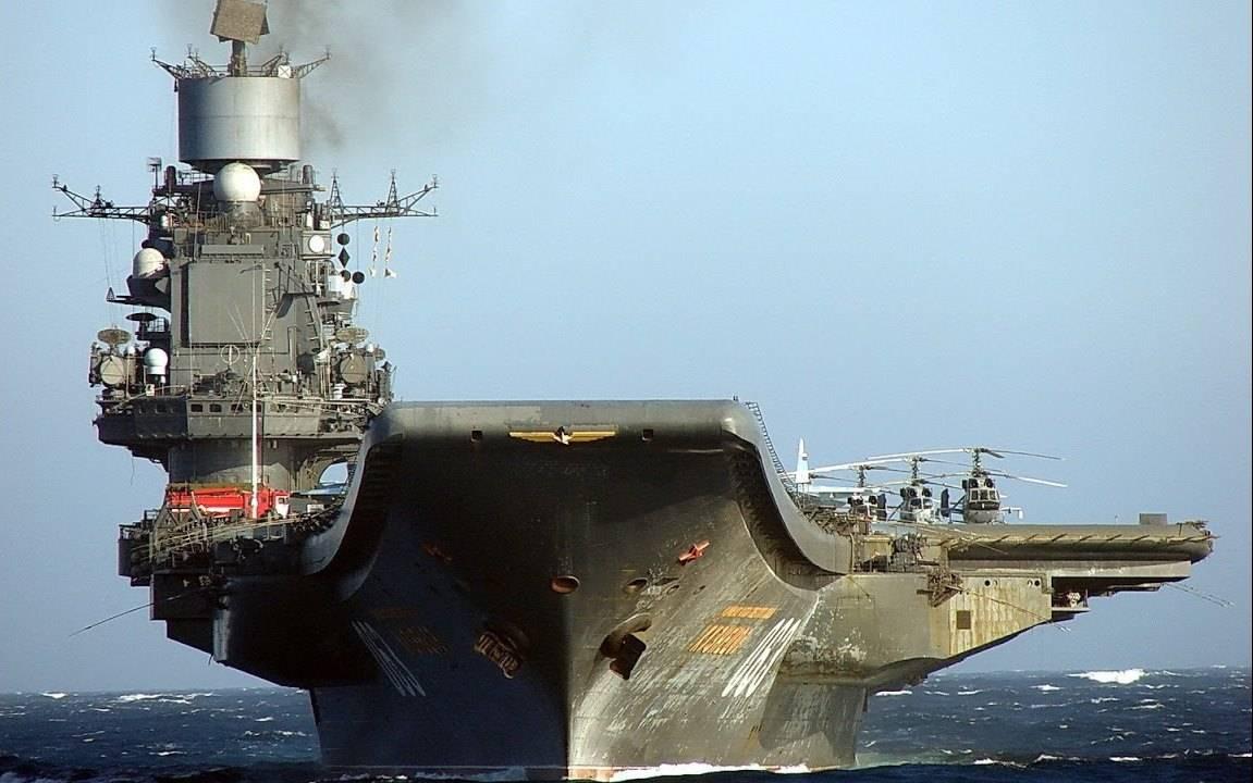 Всередине весны подпишут договор наремонт крейсера «Адмирал Кузнецов»