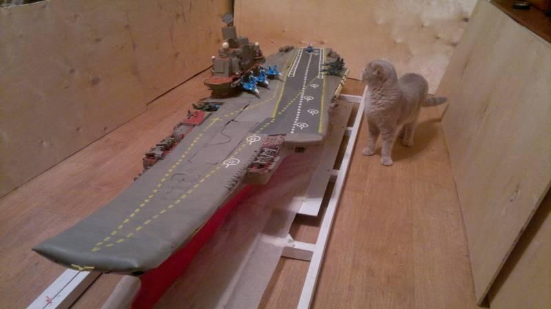 Договор наремонт крейсера «адмирал Кузнецов» заключат всередине весны