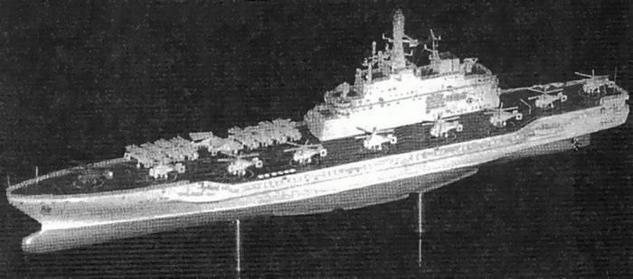 O papel dos porta-aviões na Marinha Soviética
