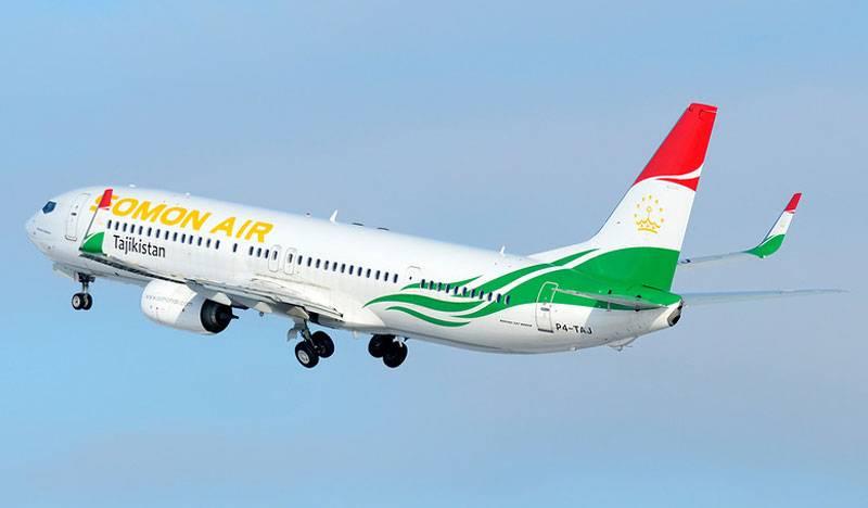 ताजिक एयर कैरियर नौ दिशाओं में रूस के लिए उड़ानें रोकती है