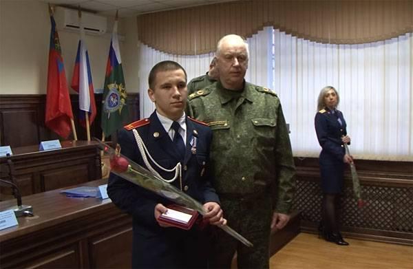 """Les habitants de Kemerovo qui ont fait preuve de courage lors d'un incendie dans le centre commercial """"Winter Cherry"""" sont récompensés"""