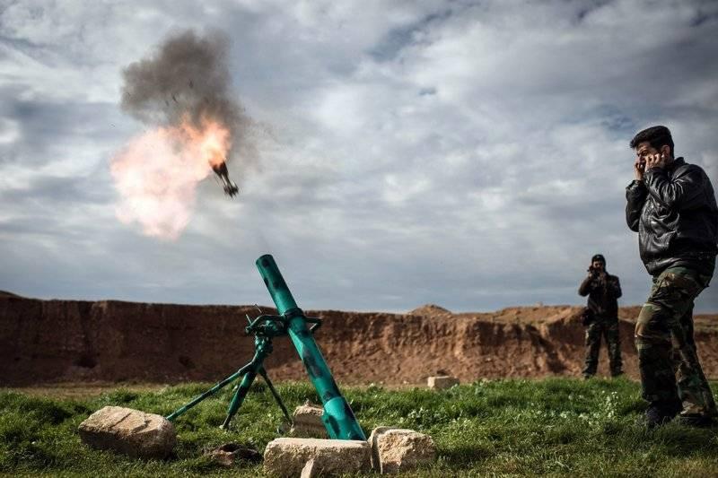 Des «partisans» syriens tirés sur une base américaine