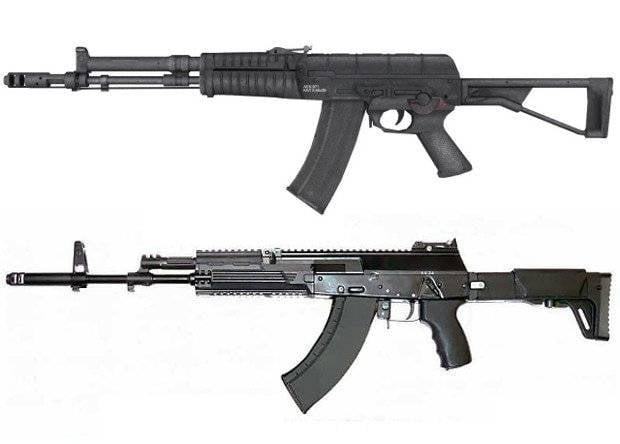 AEK contra AK, y 5,45 contra 7,62. ¿O al mismo tiempo?
