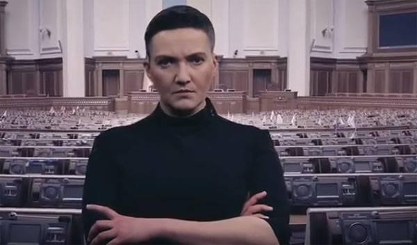 """""""우크라이나 저장"""". Savchenko는 일종의 지방 정부를 소개 할 것을 제안합니다."""
