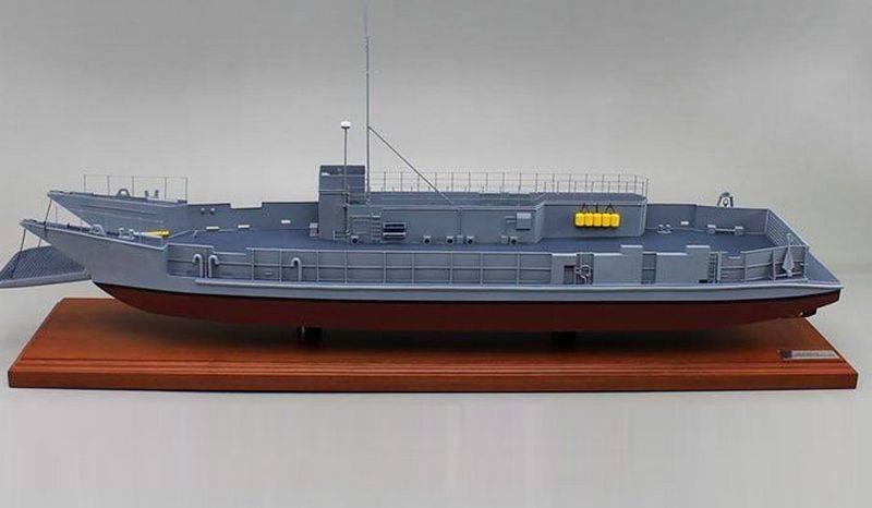 美国海军下令开发新型登陆艇