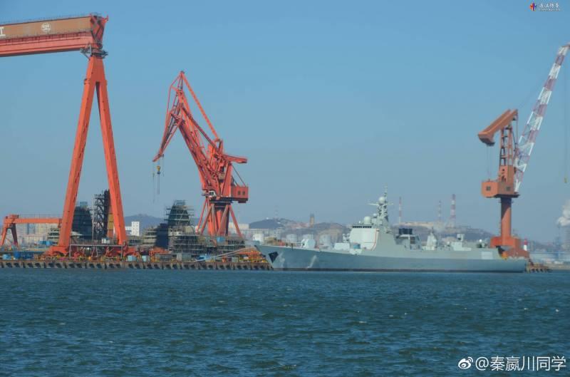 Названа дата тестового плавания нового китайского авианосца Type 001A