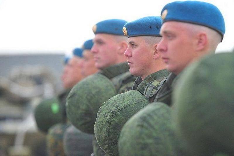In der Nähe von Brest finden gemeinsame Übungen russischer und belarussischer Fallschirmjäger statt