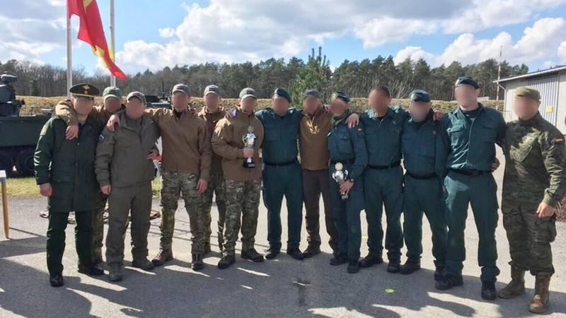 Erster Platz beim dynamischen Schießen. Das Kalaschnikow-Team und das russische Verteidigungsministerium gewannen in Belgien