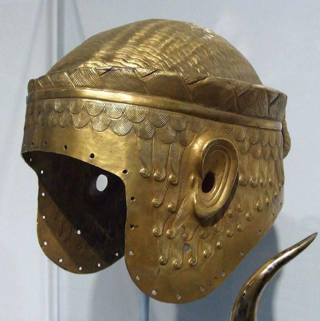 가장 비싼 헬멧. Helmet Meskalamdug, 축복받은 국가의 영웅. 4 부