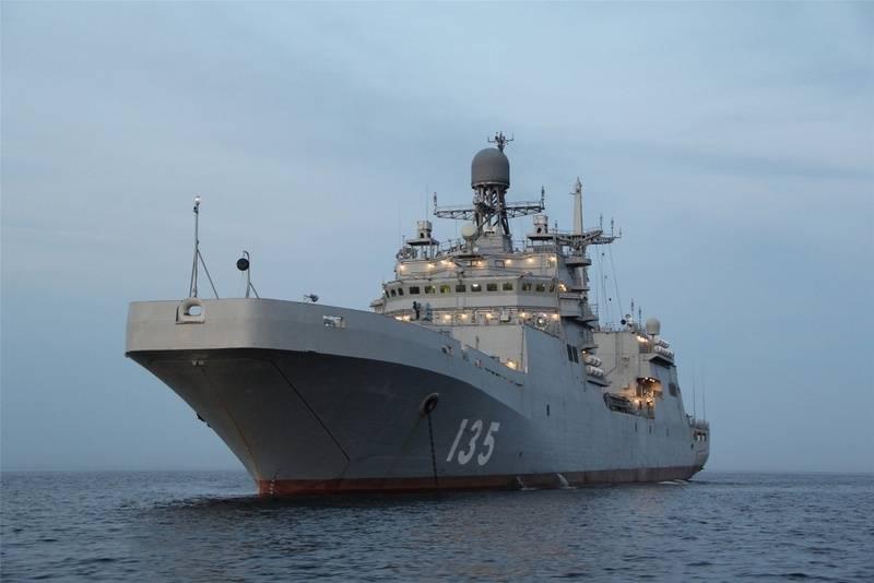 """A grande nave de desembarque """"Ivan Gren"""" retomou os testes estaduais. Quando é a transferência para o cliente?"""