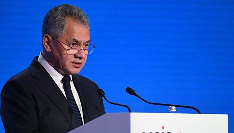 Шойгу: Силовое давление на Россию без внимания не останется