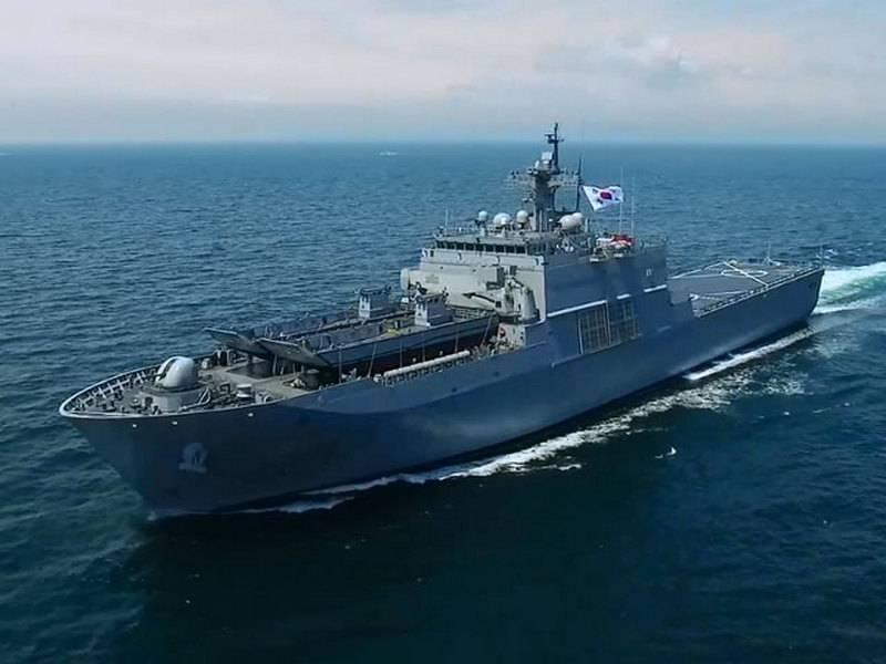 """A Marinha sul-coreana recebeu um novo """"pára-quedista"""""""
