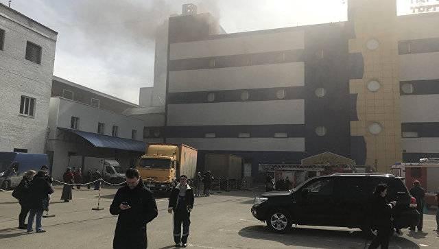 Очередной пожар в торговом центре. Снова жертвы