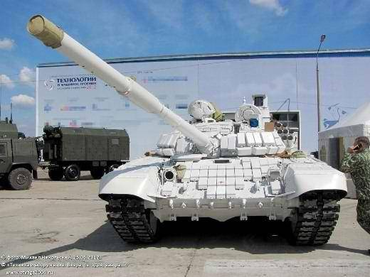 """In the factory workshop, together with the T-80BV, a """"White Eagle"""" was spotted"""