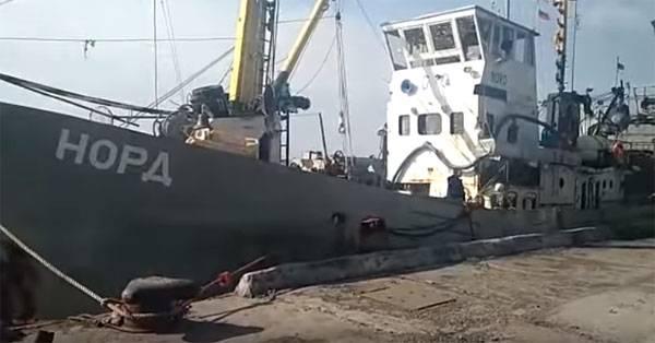 우크라이나, 러시아 선박 수감 위협 지속