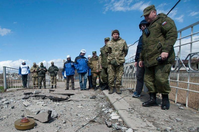 OSCE quer que oficiais russos retornem ao JCCC