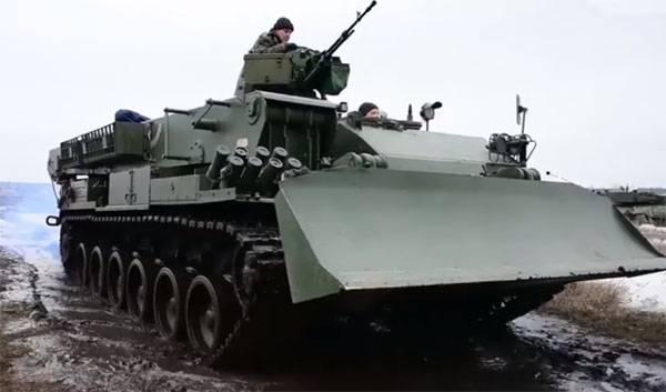 """BREM """"Athlete"""" de 20 de años emitido para el vehículo blindado más nuevo de Ucrania"""