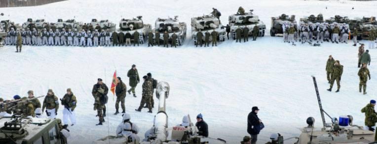 """Bu Rusya'ya karşı değil."" NATO Kuzey Kutbu'na gider"