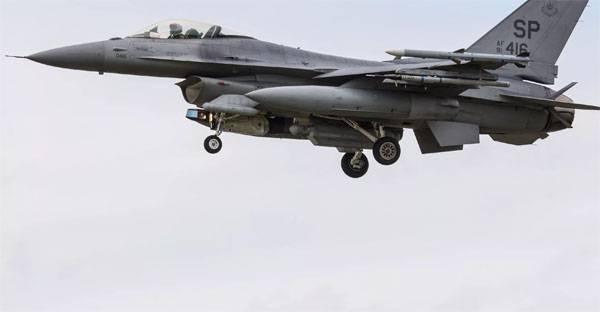 Военный самолет разбился вЮжной Корее