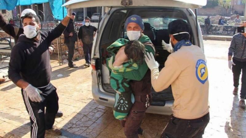 깨진 기록. 미국은 다시 한번 다마스쿠스가 칸 - 셰이크 분에서 화학 무기를 사용한다고 비난했다.