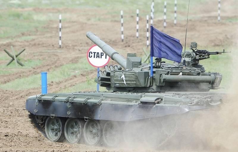 """""""Tank Biatlon"""" için yeni bir hazırlık yöntemi. İlk yarışmalar Merkez Askeri Bölge'de yapıldı"""