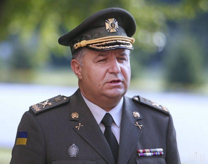 Полторак насчитал 80 тысяч российских военных на границе Украины. И 40 тысяч на Донбассе