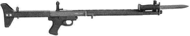 Автоматическая винтовка TRW Low Maintenance Rifle (США)