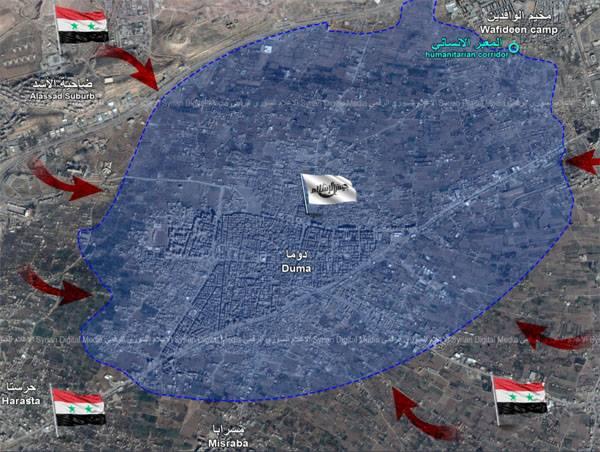 Pour les militants de la Ghout Est, un compte à rebours a commencé. Prendre d'assaut la ville de Douma
