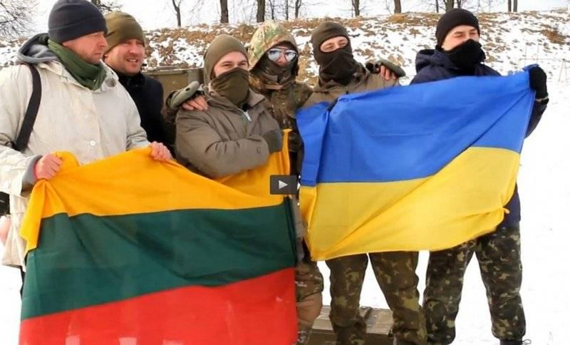 Литовские военные едут на Украину. Уже третья смена