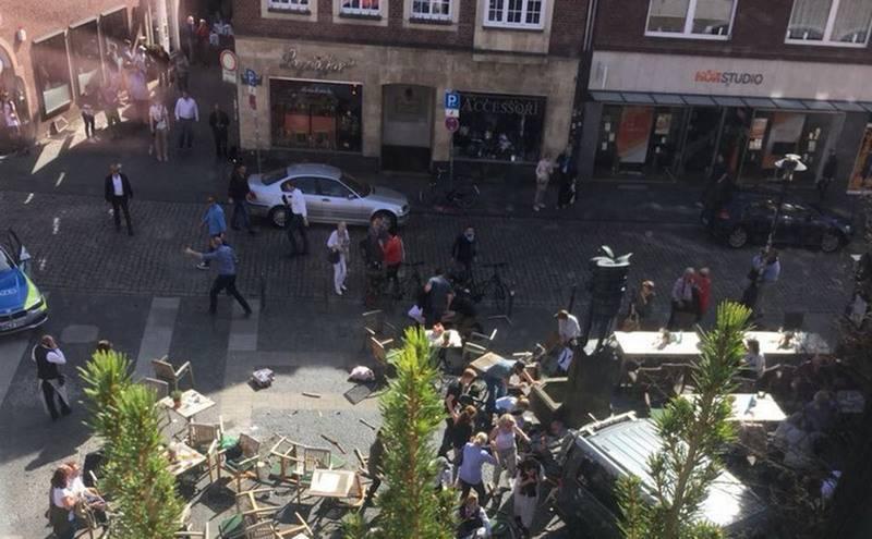 Срочно: Грузовик врезался в толпу в Германии. Имеются погибшие