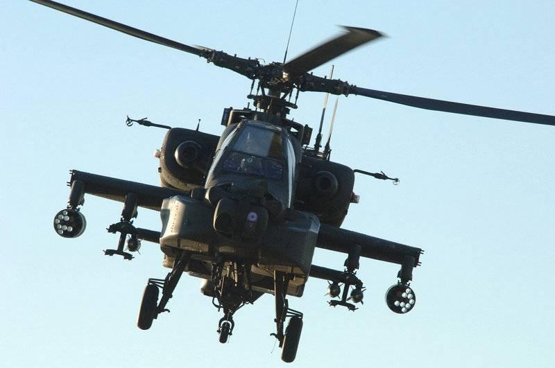 O quarto naufrágio em uma semana. AH-64E Apache caiu no Kentucky