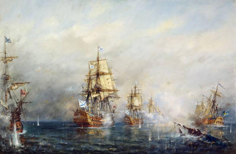Almirante Vasily Yakovlevich Chichagov. A batalha principal do comandante naval
