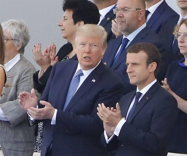 """""""Himataka in East Ghout war es mit Sicherheit."""" Macron Visor die USA"""