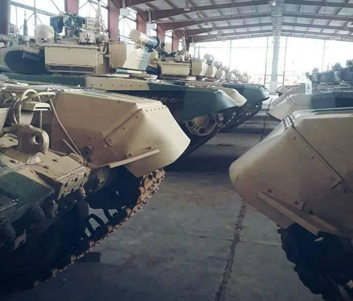 이라크의 러시아 T-90С 탱크