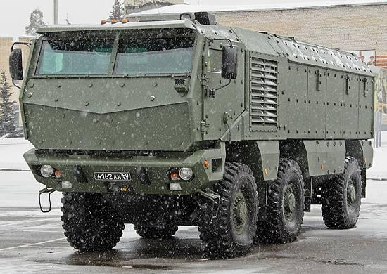 """Spetsnaz TsVO erhielt eine Charge von gepanzerten Fahrzeugen """"Typhoon"""""""