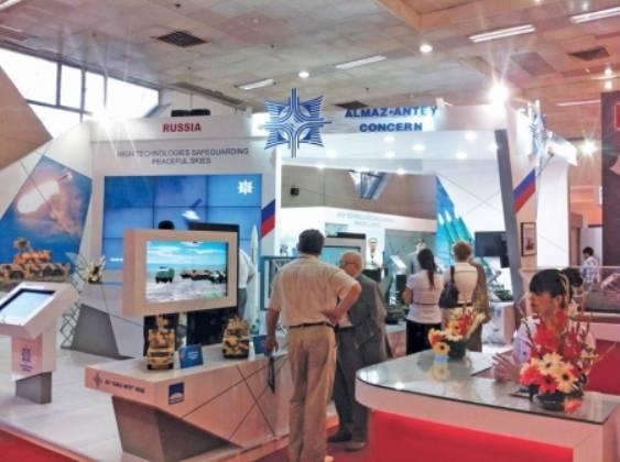 Almaz-Antey presenterà i sistemi di difesa aerea in India