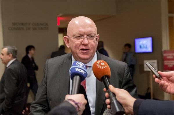 संयुक्त राष्ट्र में रूसी संघ के स्थायी प्रतिनिधि: हड़ताल सीरिया - गंभीर प्रभाव प्राप्त करें