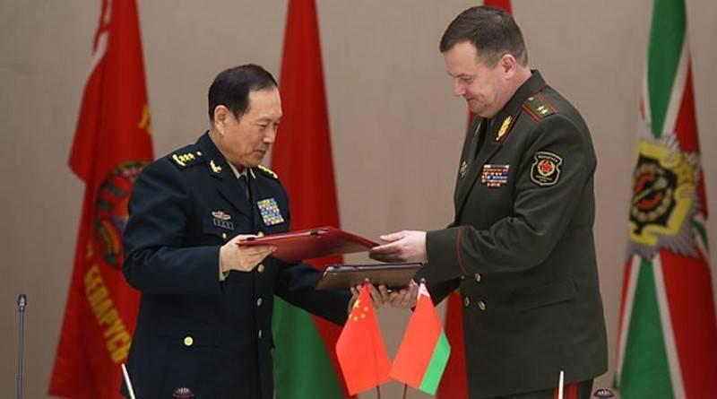 ベラルーシは中国から軍事援助を受けるでしょう。 無償