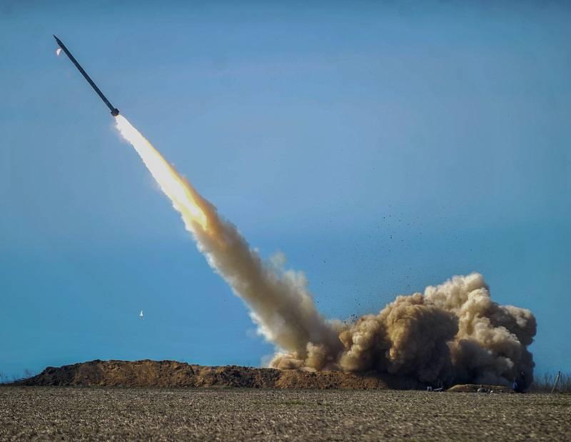 Вгосударстве Украина начались тестирования ракетного комплекса «Ольха»