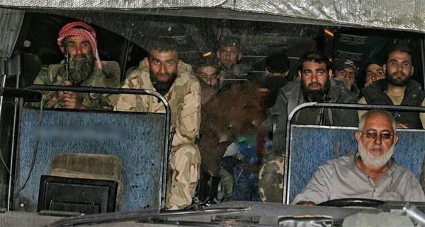"""Os militantes ilesos de Jaish al-Islam * estão deixando a Duma. As """"bombas de cloro"""" do sistema errado?"""