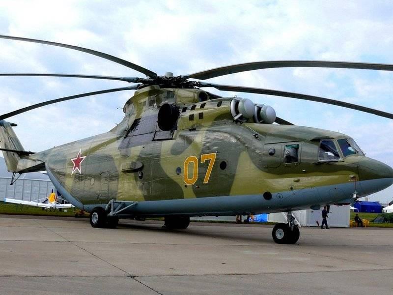 İyileştirilmiş Mi-26Т2В bu yarım yılda zaten gökyüzüne yükselecek
