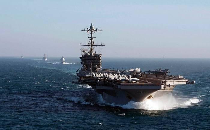 我们只是有一个轮换。 五角大楼关于向叙利亚海岸的船只运动